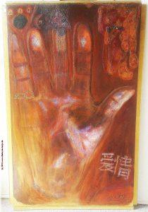 Inne-Halten Al Qing 88x127 cm Dieter de Harju